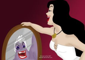 Disney Villains - Ursula by Idelwild