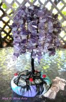 Purple willow- custom order by HollieBollie