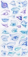 Eye practice 1 by FlyingCarpets