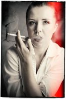If smoking does not kill, Photoshop will. by GerryPelser
