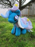Filly Trixie by NerdyKnitterDesigns