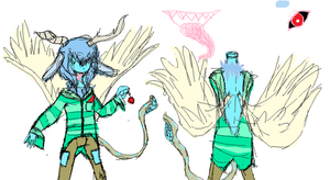 (EXTREMELY) Rough UTAU concept art: -Solon Delia- by Cookie-Catt