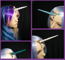 More Unicorn Tiaras :D by Ganjamira