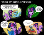 [Comic] Princess-ness Has Its Privileges by Obsequiosity