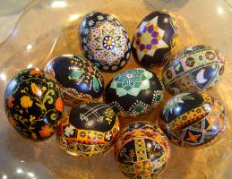 Pysanky by Symcale