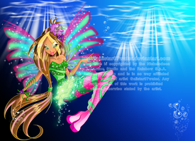 Sirenix Fairy of Lynphea by Galistar07water