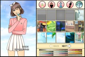 Korean style dress up game by Rinmaru