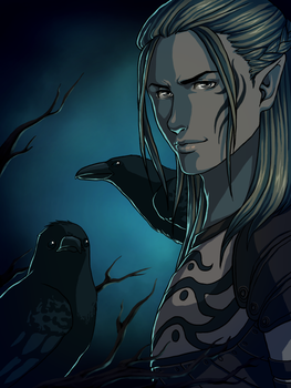 Dragon Age Origins - Crows by Lyshantia