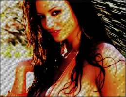 Candice Michelle by 13tazz13