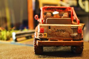 Jurassic Park Gas Powered Jeep - Rear View by PickleMunkey