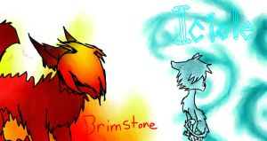 Brimstone and Icicle by zimismysexylover