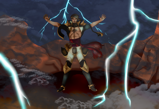 A mage's primal power by IntergalacticNobody