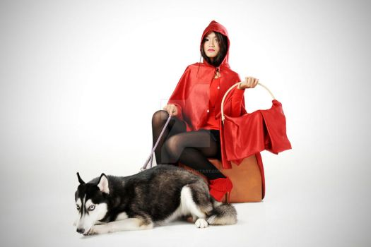 RED RIDING HOOD #3 by siTopimerah