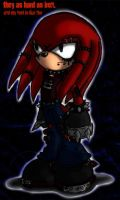 Knuckles Hard as Iron by GreenBlood12354