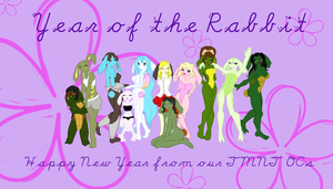 Year of the Rabbit Group Pic by shiny-pebble