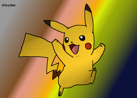 50 Pokemon Challenge Pikachu by The-Real-Shaydee