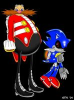 Robotnik - Metal Sonic SCC2004 by TheStiv