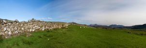 Skye hills panorama by bluegestalt