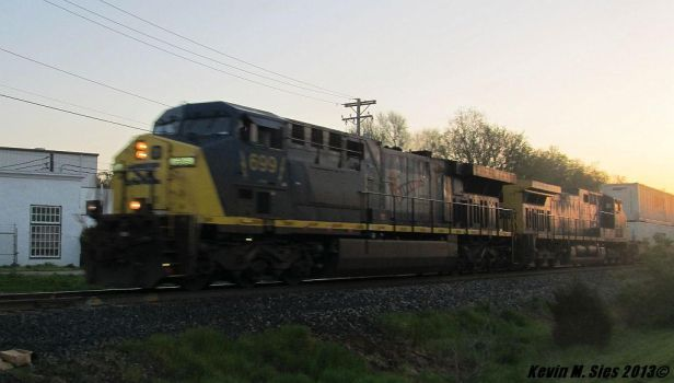 Diversity In Motion # 699 leading Q119 intermodal by EternalFlame1891