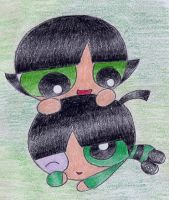 Butch and Buttercup by X-Luminescence