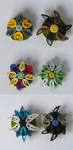 background mane six themed flower badges (pairs) by coppy-cat