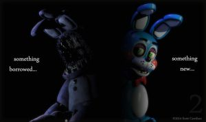 Fnaf2 ( the new bonnie) by SongOfTheSecertSouls