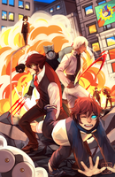 cool guys dont look at explosions by Sangcoon
