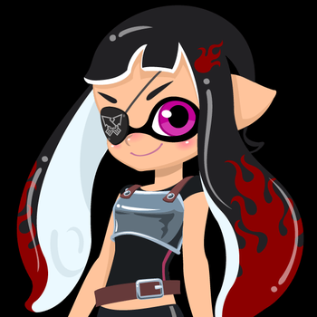 The Octo Pirate captain by alinh1296