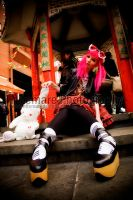 Punk Lolita in China Town II by Nitemare-Photography