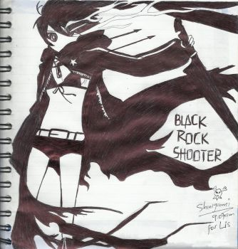 Black Rock Shooter by yoless2