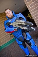 Commander Shepard costume by Lifeburn
