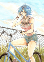 Blue Bicycle .:Contest Entry:. by GYRHS