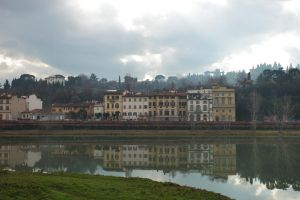 Florence river reflection by smatsh