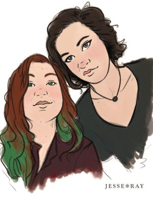 Custom Sketched and Colored Portraits by JesseRayus