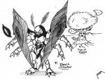 Death-Shadow sketches by Kainsword-Kaijin