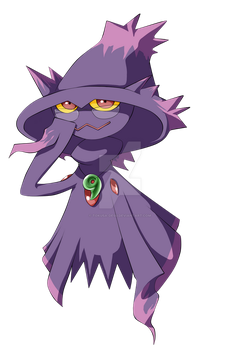COMMISSION: Mismagius by Tokusa-desu