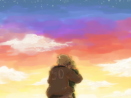 APH:Before the sunset gone by Klunatic