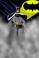 Batman Cel Shaded by cthu