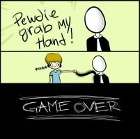 PEWDIE GRAB MY HAND~ by LuluBRx