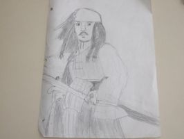 Captain Jack Sparrow by ThisGirlLovesDinos
