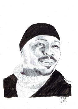 Avon Barksdale Wood Harris The Wire by DoctorFantastic