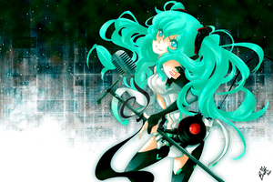 Miku Append Print AN 2011 by TaiDaisuke
