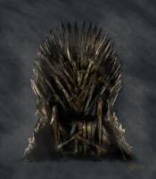 The Iron Throne by June-Malatesta