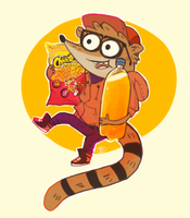 Rigby by benjaQ