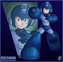 Bro Month 01 - Rockman by Ian-the-Hedgehog