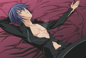 Ikuto's bringing sexy back by BagToon
