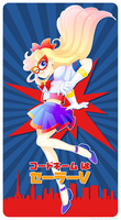 Codename: Sailor V by zombiecarousel