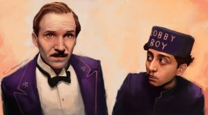 PP28__THE GRAND BUDAPEST HOTEL by IG000R