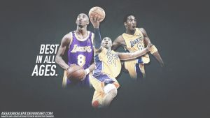 Kobe Bryant Best in all Ages Wallpaper by assasinsilent