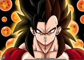 SS4 Goku Vegeta By Hellknight by Zen904